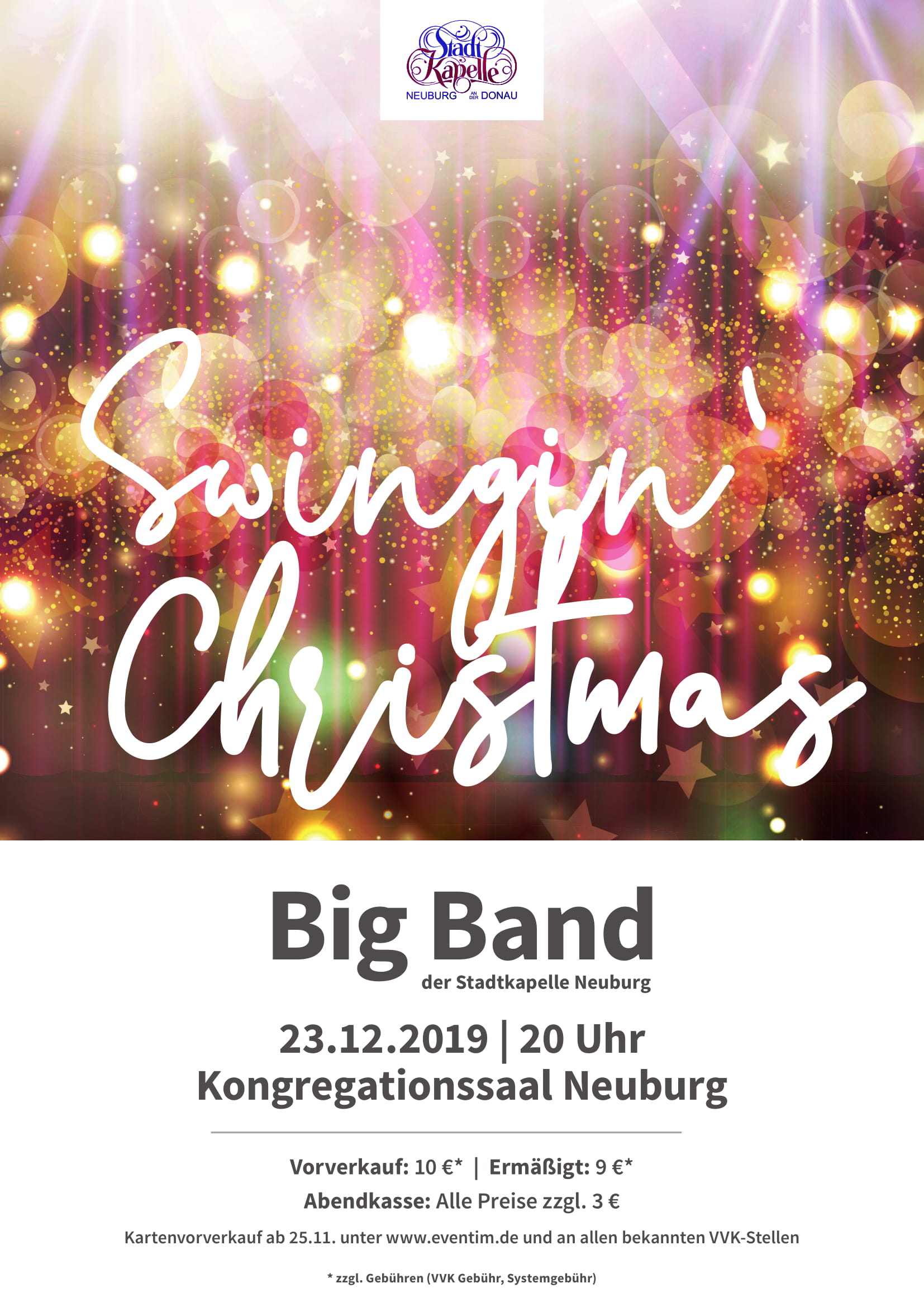 Plakat Swingin' Christmas 2019